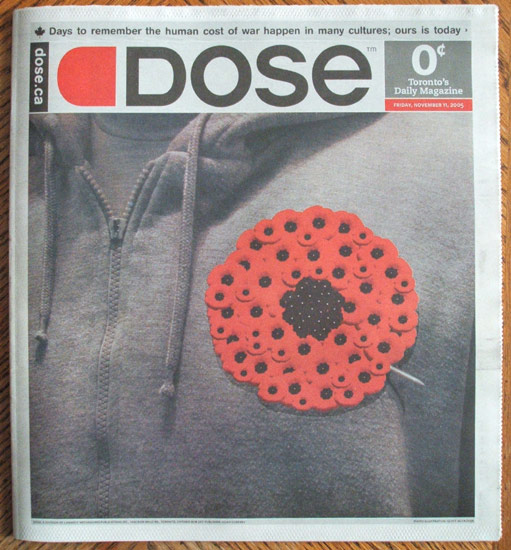 Remembrance Day cover