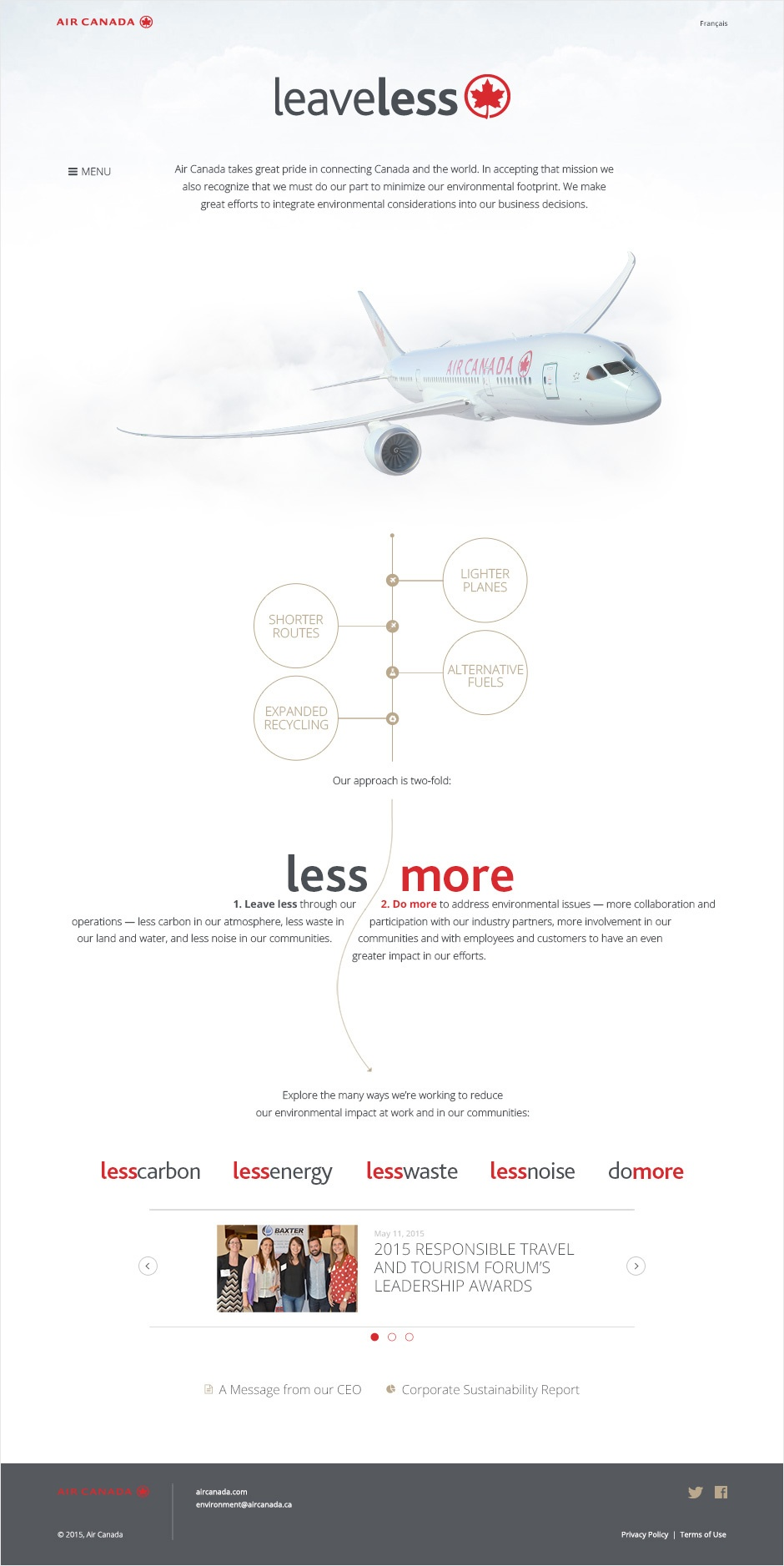 Air Canada Leaveless